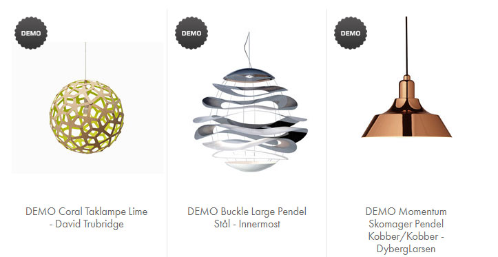 Demo-lamper