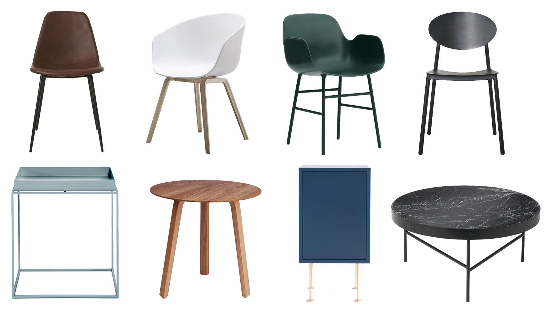 Forms stol fra House Doctor – About a Chair fra Hay – Form fra Normann  Copenhagen – Walker fra House Doctor d5f7c1c5c0532
